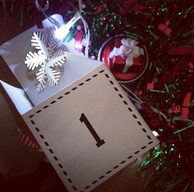 The Crafty Lass ADVENTure advent calendar (1)