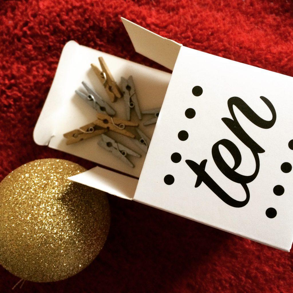 The Crafty Lass ADVENTure advent calendar (10)