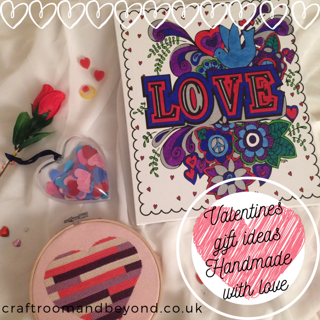 Valentines gift ideas handmade with love