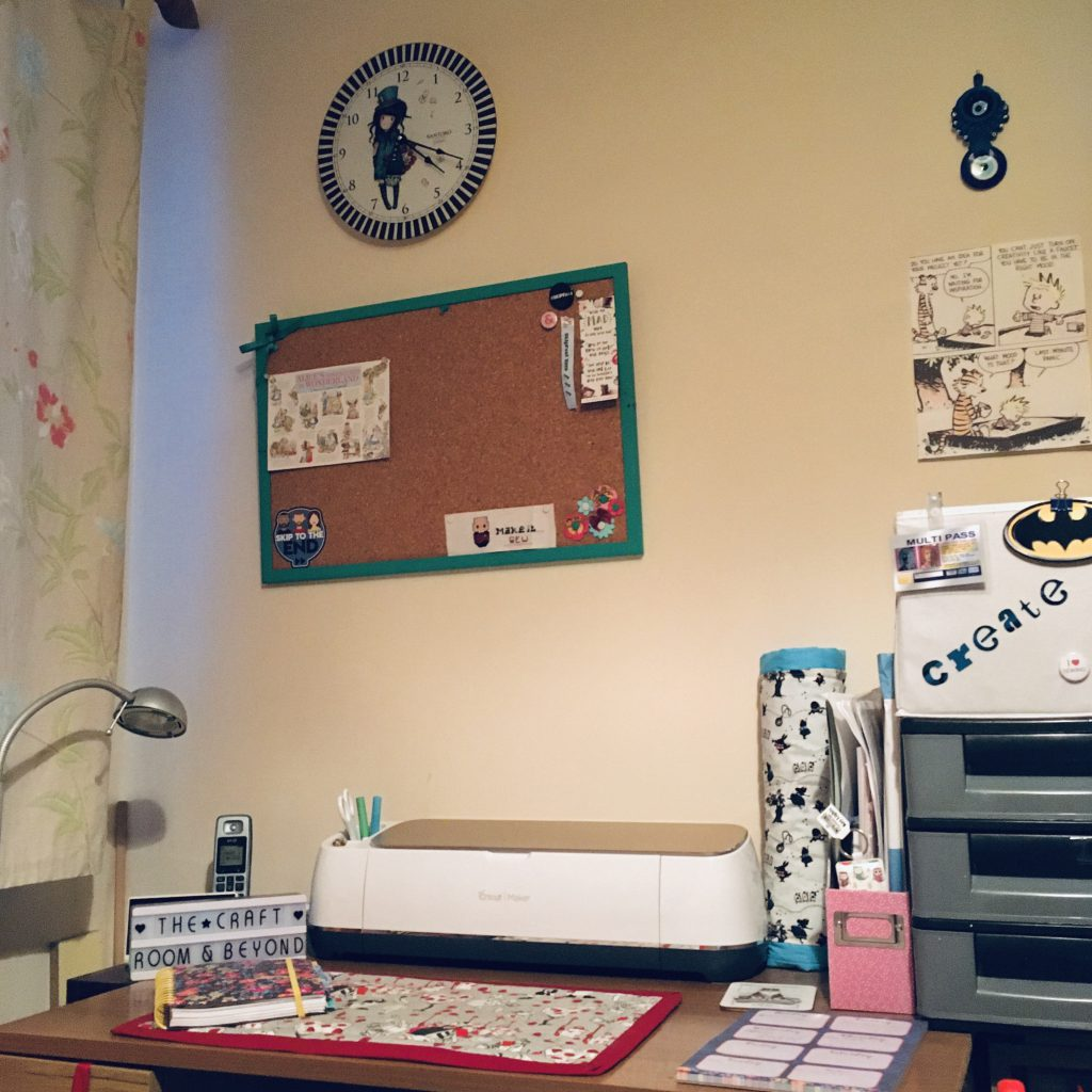 Desk, The Craft Room and Beyond