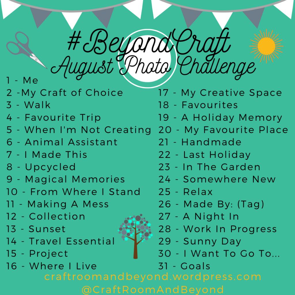 Beyond Craft August Photo Challenge - BCChat - Little Updates