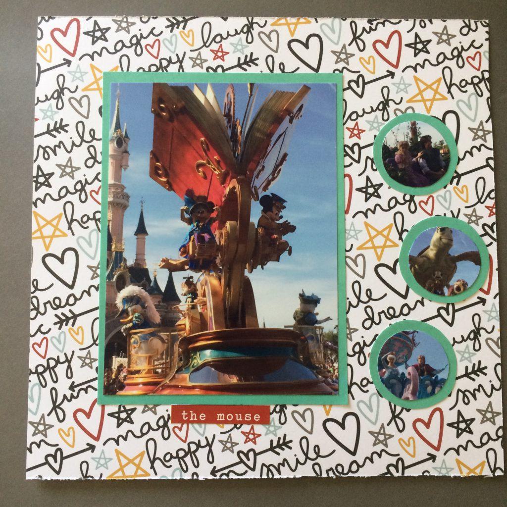 Disney Magic - Scrapbook DLP