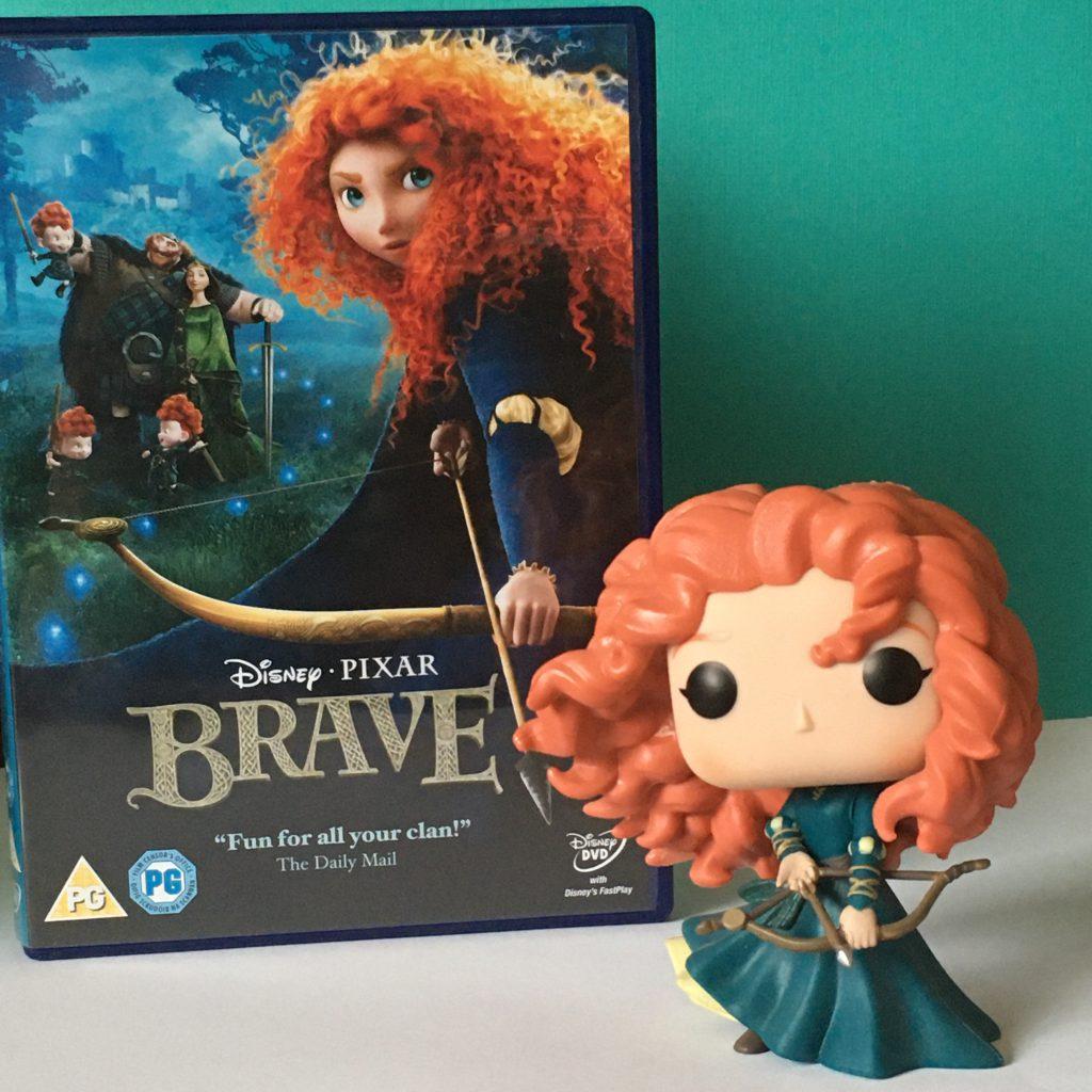 Autumn Movie Favourites - Brave DVD and Merida Funko Pop!