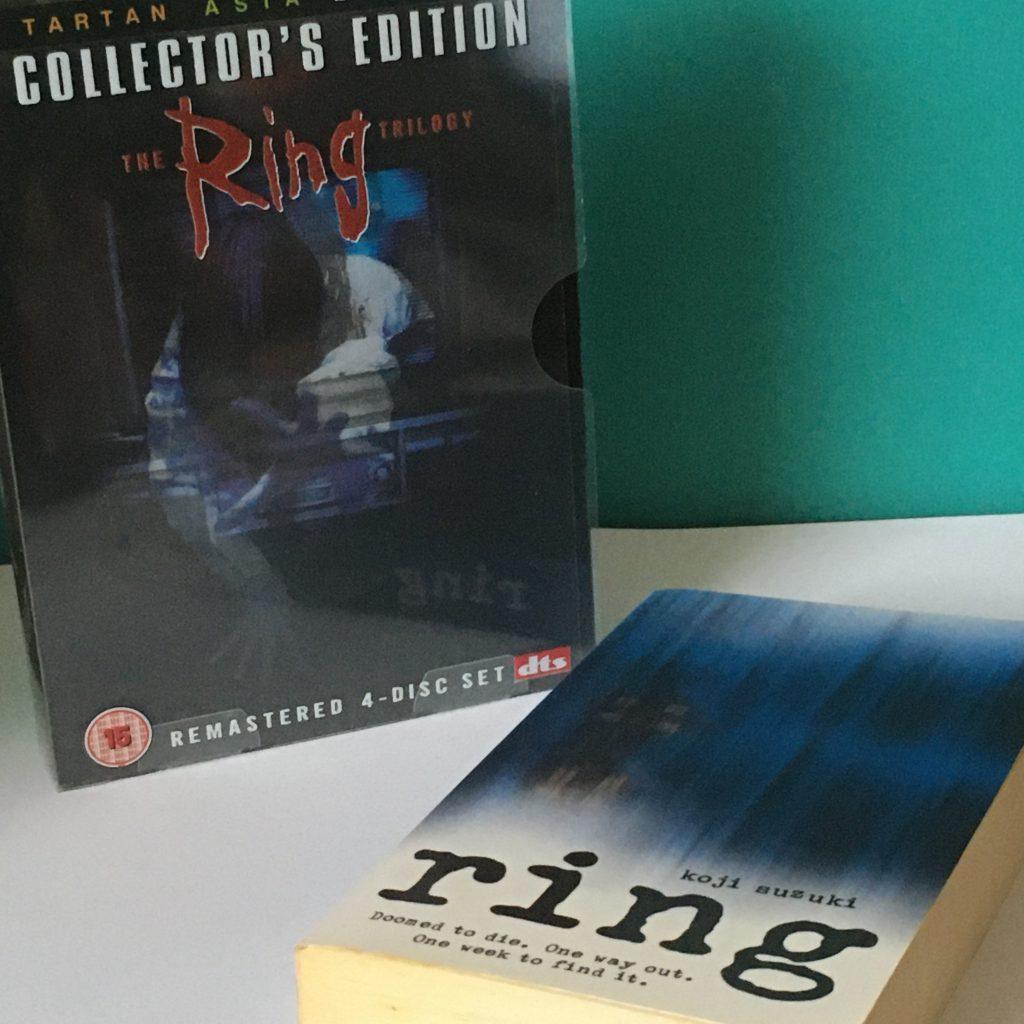 Autumn Movie Favourites - The Ring Japanese movie box-set, with book The Ring by Koji Suzuki