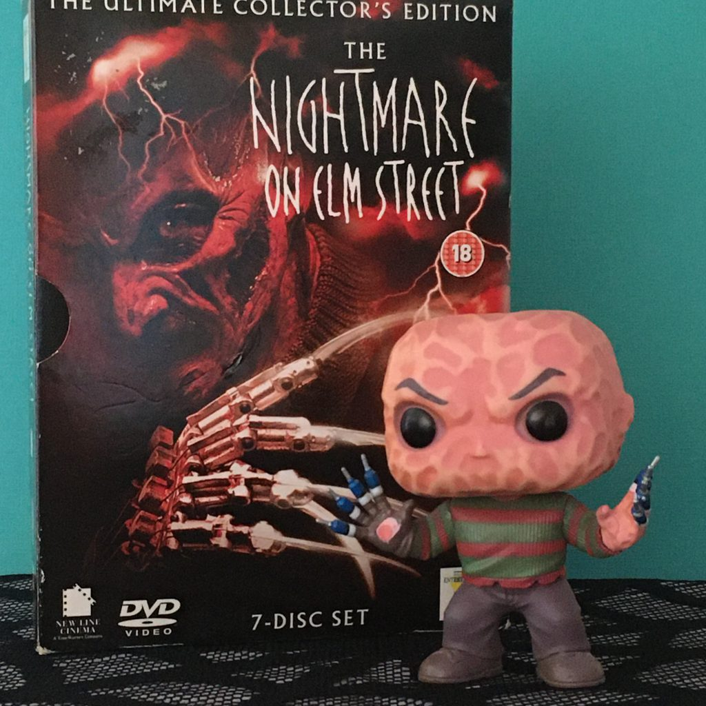 Halloween Movie Favourites - Nightmare on Elm Street DVD box set with Freddy Funko Pop