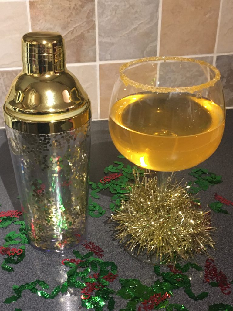 Festive citrus gin and tonic