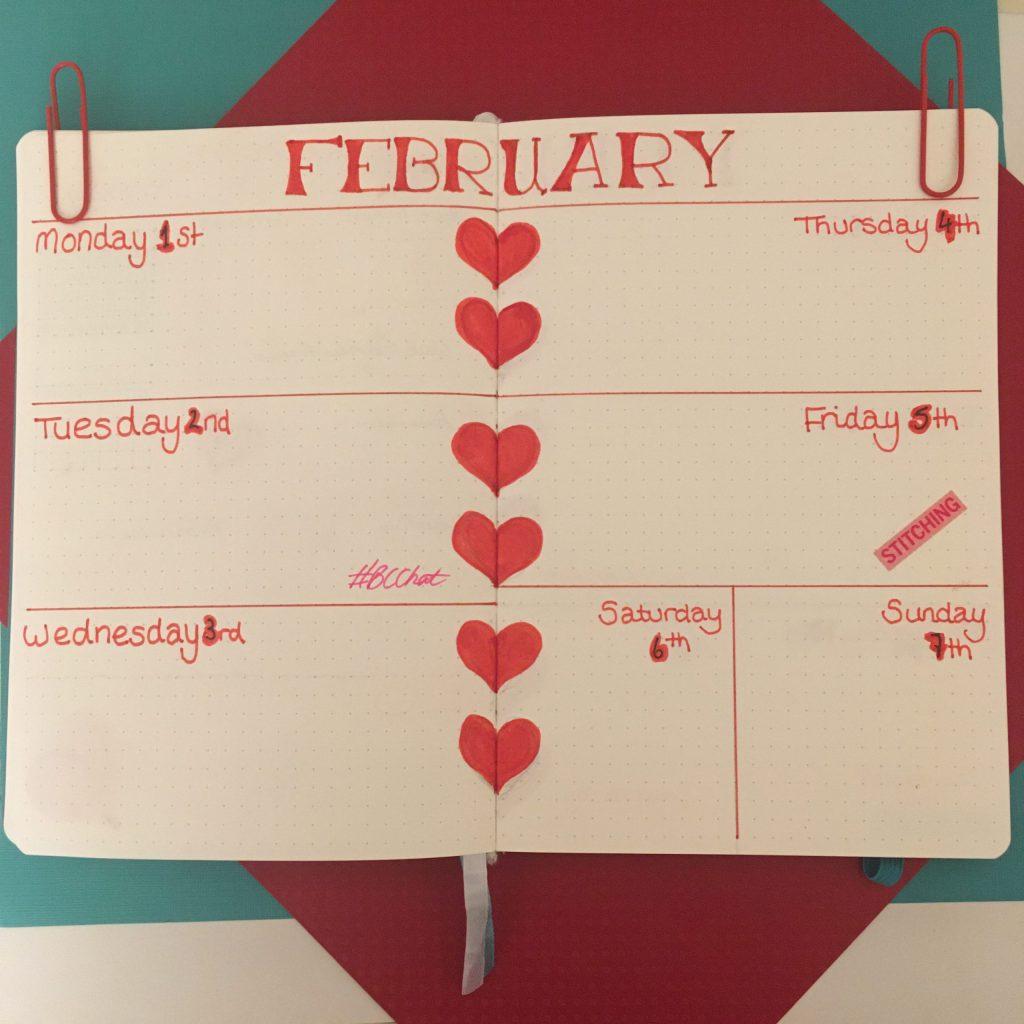 Bujo - February 2021 - weekly