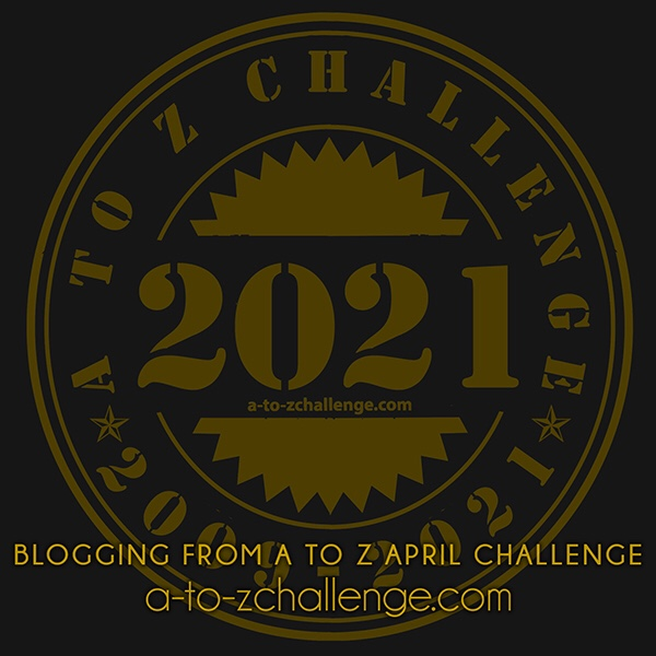 Blogging from A to Z April challenge logo