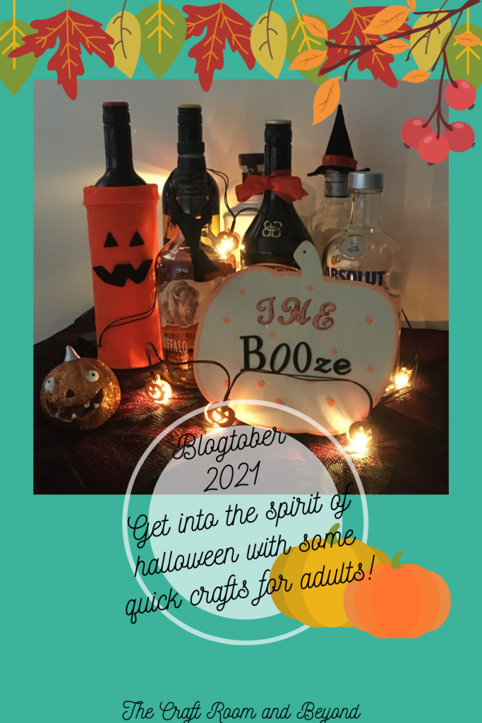 Quick and easy Halloween crafts for Adults. Please consider sharing.