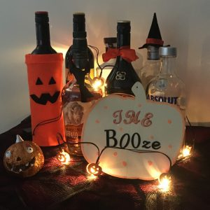 Halloween Crafts For Adults - add some spirit to your drinks cabinet