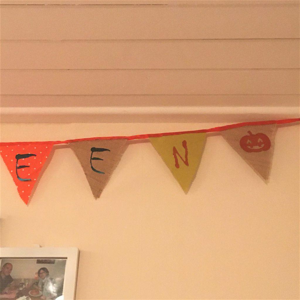 """Hello Halloween"" Bunting (part 3)"